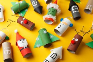 Christmas crafting and baking for kids